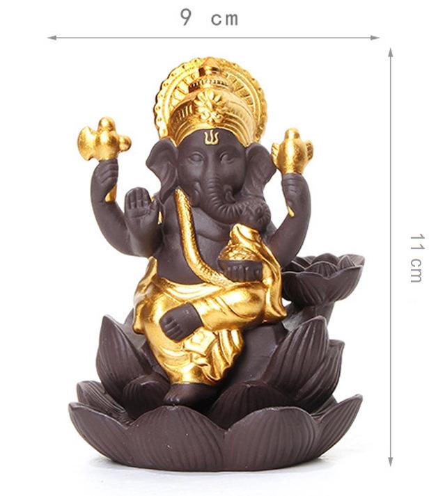 Smoke Fountain Ganesha