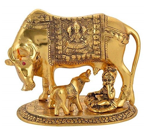 Cow with Baal Krishana