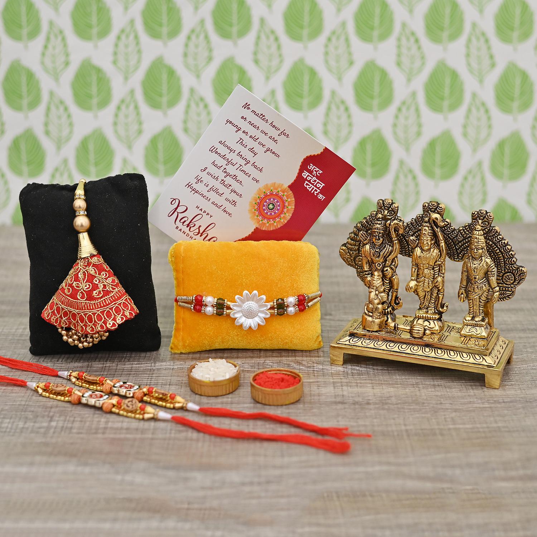 rakhi gift set for brother
