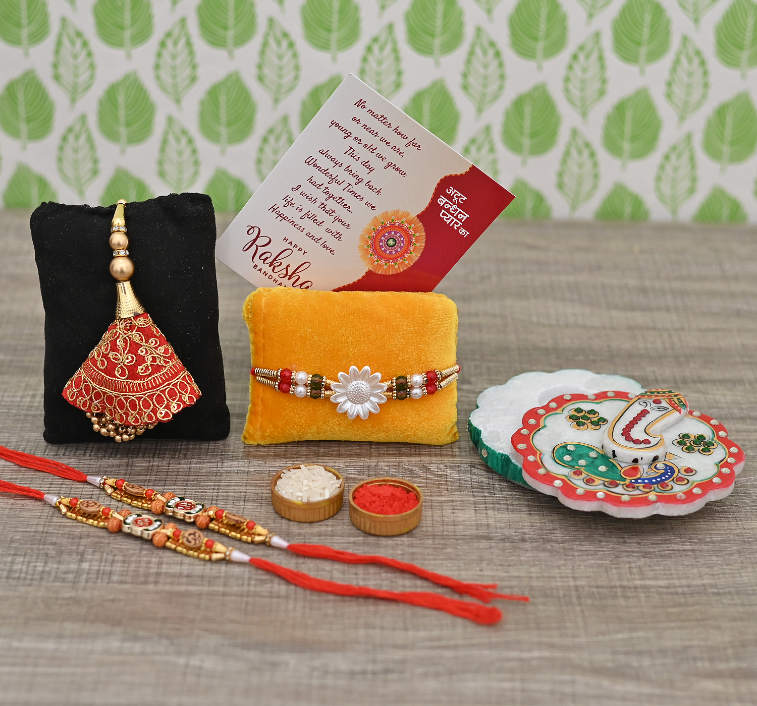 rakhi with gifts for brother