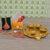 Craftam Rakhi Gifts for Brother Bhabi Combo Set- Pooja Thali, Raksha Bandhan Greeting, Roli Rice Pack and 4 Rakhi (for Bhaiya, Bhabi and 2 Children)