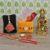 Craftam Rakhi Gifts for Brother Bhabi Combo- Hanuman Idol, Raksha Bandhan Greeting, Roli Rice Pack and 4 Rakhi (for Bhaiya, Bhabi and 2 Kids)