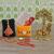 Rakhi Gifts for Brother Combo Set- 4 Rakhi Set(for Bhaiya, Bhabi and 2 Children) Krishna Idol, Raksha Bandhan Greeting, Roli Rice Pack