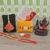 Rakhi Gifts for Brother Combo Set- Smoke Backflow Ganesha with 10 Cones, Raksha Bandhan Greeting , Roli Rice Pack and 4 Rakhi Set for Bhaiya , Bhabi and 2 Children
