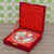 Rakhi Gifts for Brother Combo Set- Marble Pooja Thali , Raksha Bandhan Greeting , Roli Rice Pack and 4 Rakhi Set For Bhaiya , Bhabi and 2 Children (Copy) (Copy)